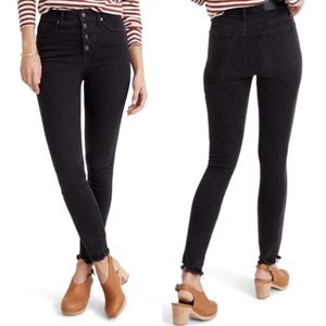 Awesome 😎 Madewell high rise skinny jeans 👖!